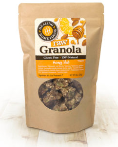 Raw Honey Nut Granola