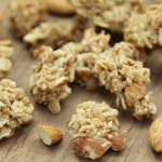 Almond Butter Chunk Baked Granola Ingredients