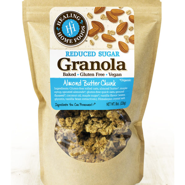 Reduced Sugar Almond Butter Chunk | Healing Home Foods