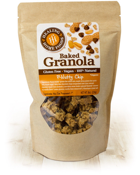 P-Nutty Chip Baked Granola
