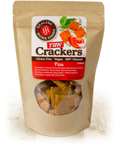 Pizza Raw Crackers